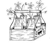 Vintage Milk Box Auf sierra-enterprises.com  http://www.pinterest.com/nannl/digis-and-printables/