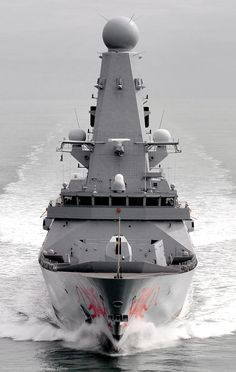 HMS Dragon D 35 Type 45 Daring class Guided Missile Destroyer Royal Navy