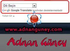 Wordpress Sitene Google Dil Çeviri Eklentisi ~ Adnan Güney