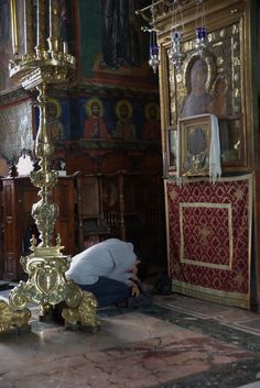 """Give your heart entirely to God, not to the world. Those who've given their heart to the world are enemies of God. """"Venerable Païsios the Athonite"""""""