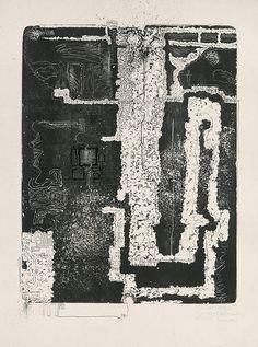 grafika, voľná, datovanie: 1968, rozmer: výška 67.9 cm, šírka 50.4 cm, výška 82.1 cm, šírka 60.7 cm
