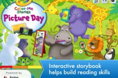 A kids' reading app that reports back to parents