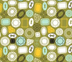 Sparkle and Shine - nadiahassan - Spoonflower
