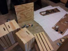 Home made coffee table - Imgur