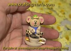 3D quilled bear