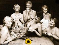 The original Calendar Girls group shot