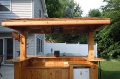 Backyard Bar Designs 55 patio bars outdoor dining rooms hgtv Garden Design With Outdoor Bar And Kitchen On Pinterest Tiki Bars Outdoor Bars And With