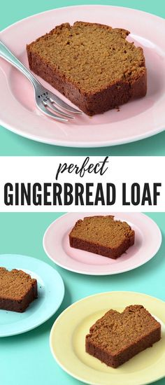 A moist Gingerbread Loaf made with brown sugar molasses and sweet spices like ginger and cinnamon This gorgeous gingerbread cake is super easy to make - perfect for Christmas Recipe from Gingerbread Loaf Recipe, Gingerbread Cake, Gingerbread Houses, Holiday Baking, Christmas Baking, Christmas Cakes, Holiday Cakes, Christmas Recipes, Easy Christmas Cake Recipe