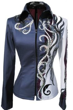 two tone show jacket http://media-cache2.pinterest.com/upload/251146116690163746_HYCANBLv_f.jpg littlem267 horse things
