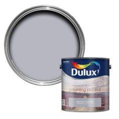 Dulux Travels In Colour Amethyst Starling Purple Flatt Matt Emulsion Paint 2.5L: Image 1