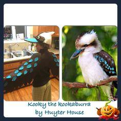 Kookaburra costume