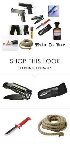 """""""War"""" by ivorneth ❤ liked on Polyvore featuring Holster and HomArt"""