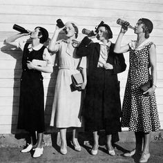 Shout out to my girl gang The Vintage Babes Crew! The original Girl Boss'!