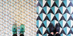 Graphic Floors via Goodmoods