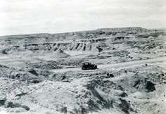 A rough stretch of road between Lyman and Green River, Wyo. (1926) http://ow.ly/r3EFG