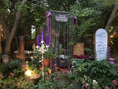 Faerie Godmother sanctuary in Ginny's Enchanted Garden.