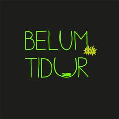BELUM+TIDUR+(GLOW+IN+THE+DARK)