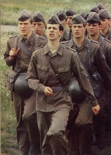 east german military forces | germany s communist leaders followed the soviets in having available