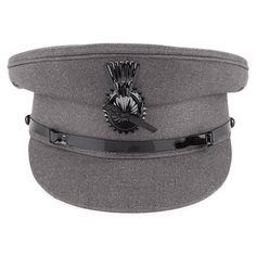 Denton Hats Chauffeurs Cap - Grey from Village Hats. Caps Hats 31a3c1ca57c5