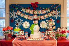 Snowman Party #snowman #party