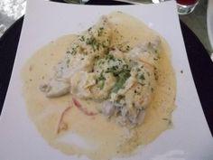 Reineta Gratinada (Restaurant Di Vino / Valparaíso / Chile).