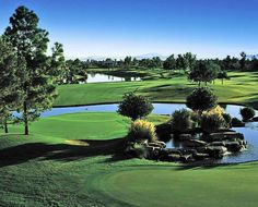 Ocotillo Golf Resort:    Ocotillo Golf Resort is one of the finest golf venues in Arizona that provides the country club experience. The golf course is a 27 hole designed by Ted Robinson with fascinating greens and captivating blues. The brilliantly colored flowerbeds, mildly drifting fairways, beckoning palm trees and the rushing waterfalls provides a calm yet stimulating round of golf.