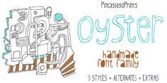 Oyster - Webfont & Desktop font « MyFonts