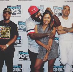 Rick Ross - Angela Yee Picture  Rick Ross was feeling himself on The Breakfast Club. The rapper made several inappropriate comments to Angela Yee and took the ridiculous picture below. The pic shows the Miami native grabbing Angela with his tongue out. The picture broke Twitter with many people calling Charlemagne and DJ Envy out for ignoring the situation.  Rick Ross was also called out for comments he made about signing a female rapper. Angela asks him why he hasn't signed any females and…