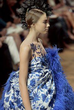 Anastasia Krivosheeva at Josep Font Haute Couture F/W 2008