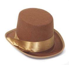 STEAMPUNK BELL TOP HAT