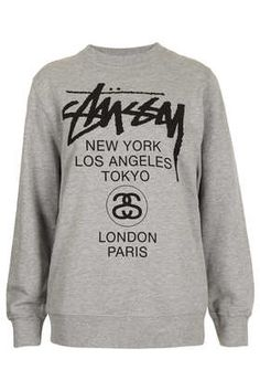 World Tour Sweat By Stussy - Brands at Topshop