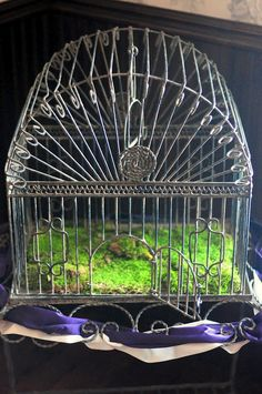 Bird Cage for wedding cards - Rosabelle Manor