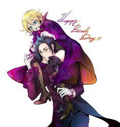 Happy Birthday Alois! Black butler, Kuroshitsuji, Alois Trancy, Claude Faustus