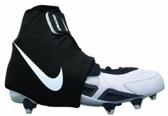 Nike Str8 Jacket (Black/White, Large) by Nike. $40.00. Nike STR8 Jacket Black/White Football Ankle Brace Lighter, more supportive and reusable. An innovative football cleat spat system, the Nike STR8 Jacket football ankle brace provides a customized compression fit for lockdown and reduced slippage from quick cuts and jumps. 5 step velcro system with neoprene inside jacket. Stretch neoprene fabric for custom, glove-like fit. Multi-point adjustability for comfort. Fits over ...