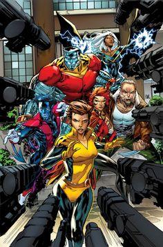 """Patrulla-X Oro 66 (4)Cruce con """"Imperio Secreto"""". Cuando Hydra atacó Manhattan, La Patrulla-X abrió las puertas de la escuela a todos los humanos o mutantes que pidieran santuario. Ahora, tendrán que pagar las consecuencias. Llega el nuevo Ejecutor."""