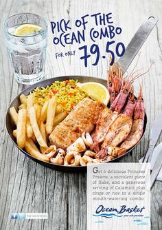 Star in your own TV special - and enjoy the pick of the ocean Calamari, Prawn, South Africa, Restaurants, Ocean, Star, Food, Meal, Eten