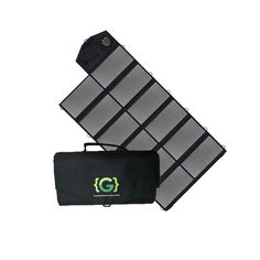 Charge your power systems and small electronic devices with the Grengine™ Folding Solar Panel. Featuring two USB outlets and an output. Pv Panels, Solar Panels, Portable Solar Power, Off Grid Solar, Gifts For Campers, Portable Generator, Electronic Devices, Folded Up