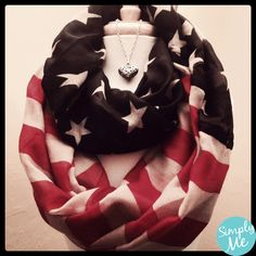 """""""America The Beautiful"""" Infinity Scarf Cool Outfits, Fashion Outfits, Womens Fashion, Dress For You, Dress Up, Cool Style, My Style, Style And Grace, My Boutique"""