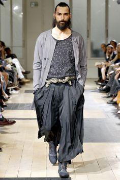 Yohji Yamamoto | Spring 2012 Menswear Collection | Style.com
