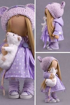 Baby doll, handmade doll, tilda doll, art doll, collection doll, decor doll, textile doll