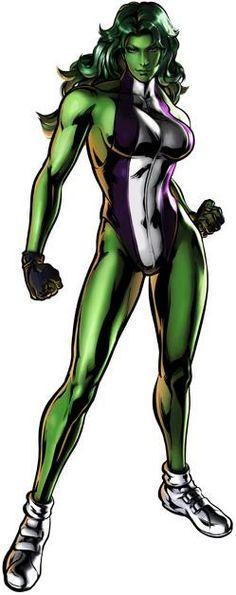 35938 - Ultimate Marvel vs. Capcom 3: She Hulk