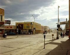 2nd Street East and South Main Street, Kalispell, Montana (August 22, 1974) Photograph: Stephen Shore