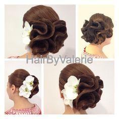 #elegant #hair#hairstyle  @Valerie Ahern