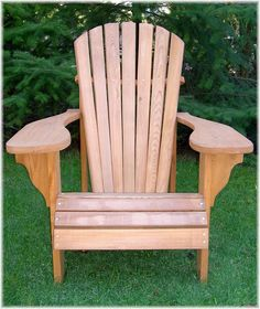 Adirondack - Penobscot Chair Templates And Assembly Plans