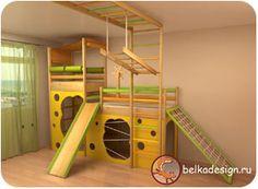 Цены на детские кровати, комнаты и спортивные комплексы - детская мебель и детские комнаты на заказ – Детский Интерьер