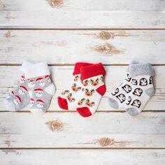 Baby First Christmas Socks - baby's first christmas