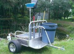 Utility Trailers Ride On Mower Trailer, Lawn Trailer, Work Trailer, Trailer Plans, Trailer Build, Atv Trailers, Equipment Trailers, Atv Cargo Box, Trailer Wiring Diagram