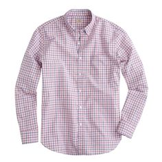 secret wash shirt in anderson check ▲ j.crew