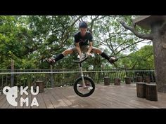 Freestyle Trials Unicycling - Taiwan 台灣 - YouTube