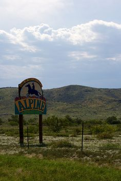 Alpine, Texas Sign, by shortblondeguy